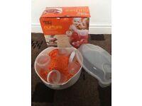 Nurture baby feeding/sterilisers