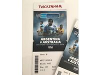 Rugby Tickets Argentina V Australia
