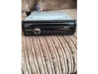 Sony xplode car stereo with USB port 4x50watt