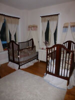 Chambre pour Jumeaux!  Bedroom set for baby twins!