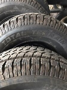 265/70R16  Total terrain snow tires Kawartha Lakes Peterborough Area image 2