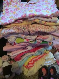 New born to 3 months baby girl clothing lot