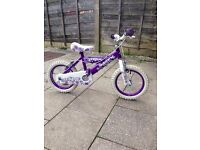 Huffy girls 14inch bike