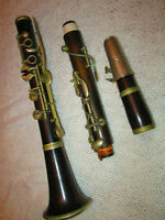 ANTIQUE FRENCH CLARINET
