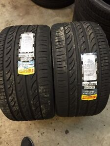 295/25r20 Pirelli p-zero Nero GT high performance low profile all season tires