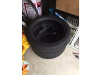 Tyres x2 17inch