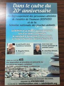 20e anniversaire RDPATH Saguenay Saguenay-Lac-Saint-Jean image 1