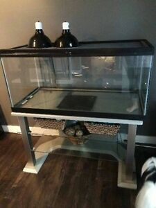 50 gallon reptile tank with stand