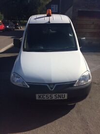 1.4 VAUXHALL 2005 (Registered 2006) DUEL FUEL COMBO VAN - EXCELLENT MILEAGE FOR AGE
