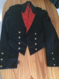 Genuine British army vintage jacket 1927 mess dress dinner uniform