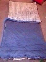 Extra large man size sleeping bag - Clean
