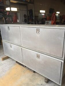 LARGE ALUMINUM TOOLBOXES