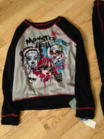 Monster High Pj's and Red Justice Jeggings