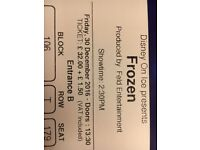 4 x Disney On Ice presents Frozen tickets - The O2 - Friday 30th December - 2.30pm