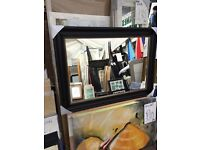 """4"""" wide antique style large mirror"""