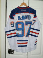 Connor Mcdavid - Edmonton Oilers jersey - New - Stitched
