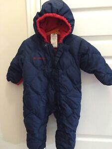 Snow suit for infant