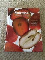 Nutrition: A functional Approach by Thompson, Manore, Sheeshka