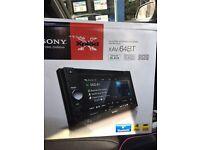 Sony double din