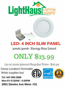 LED Light bulb BLOWOUT--Clearance sale led pot light, slim panel
