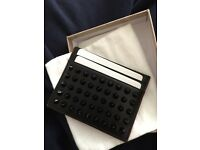 Authentic black Christian louboutin wallet