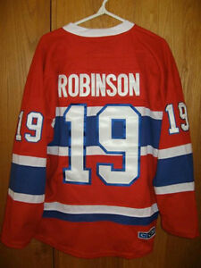 CHANDAIL LHN MONTREAL CANADIENS #19 LARRY ROBINSON NHL JERSEY