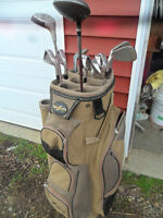 Golf Clubs (Right) & bag