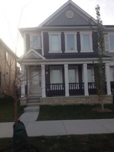 End Unit Townhome for Rent in Cityscape (NE Calgary)
