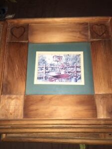 Country pictures with wooden frames Cambridge Kitchener Area image 5