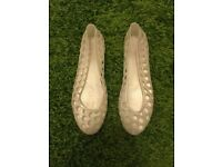 Ladies/Girls Jelly Shoes Size 3 Worn Handful Of Times