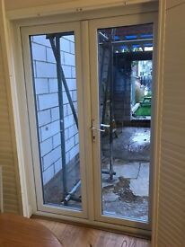 Double glazed French doors