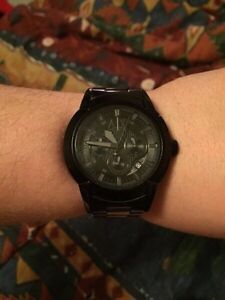 MINT CONDITION ARMANI WATCH. ASKING $100