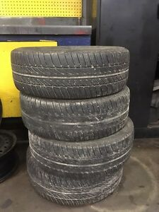 Summer tires and Steel rims for sale