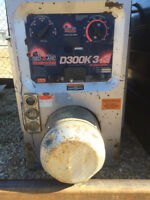 Red d ark 3+3 diesel Welder