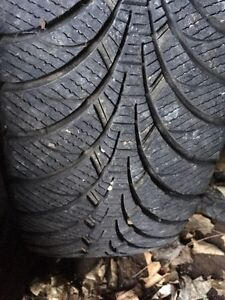 * REDUCED* 4 Goodyear Ultragrip winter tires and rims Kawartha Lakes Peterborough Area image 1