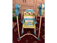 3 in 1 Fisher Price Baby Swing/Seat/Rocker