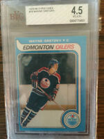 hockey card - Wayne Gretzky graded rookie card