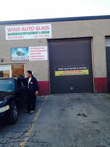Wind Auto Glass windshield  Repair, Replacement