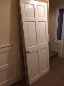 Painted Timber Door