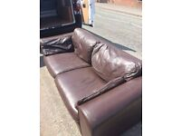 leather sofa- free delivery in Birmingham