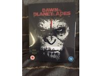 3D blu Ray steelbook- Dawn of the Planet of the Apes