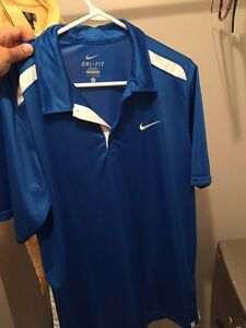 Nike Dri Fit Royal Blue Large t-shirt