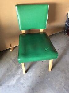 Green retro chair Kingston Kingston Area image 1