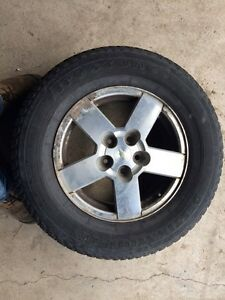 235/65R16 Firestone tires on stock Chevy rims