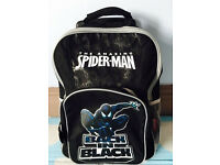 Quality kids spider man cabin size lightweight trolley bag, quick sale at only £15
