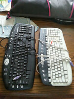 Two FREE Older Style Keyboards