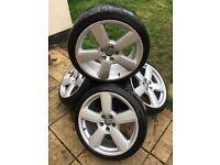 "5x100 18"" Rs6 Sline alloys wheels Audi Volkswagen"