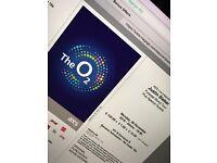 Justin Bieber London 28 November PIT ticket
