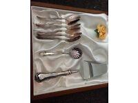 Silver coffee Cutlery