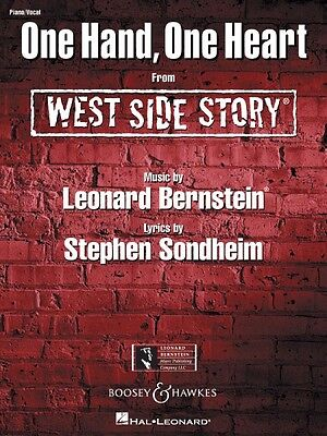 One Hand One Heart from West Side Story Sheet Music Piano Vocal NEW